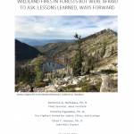 wildfire report cover 2018